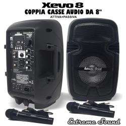 Xevo8 combo - Coppia Casse...